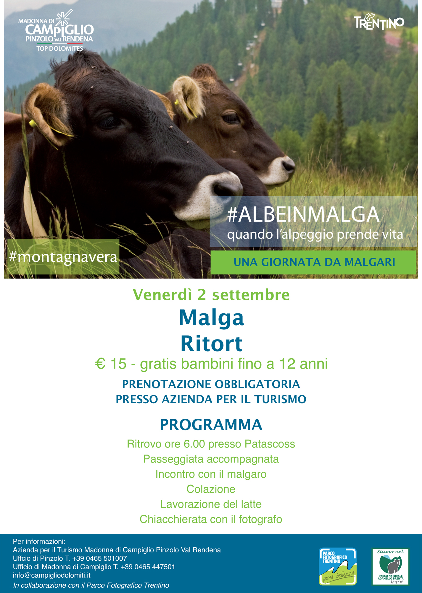 02/09/16 | Alba a Malga Ritort | Mad. di Campiglio – Parco ...